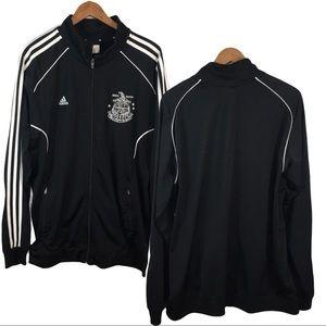 Men's Adidas Athletic Polyester Soccer Jacket XL